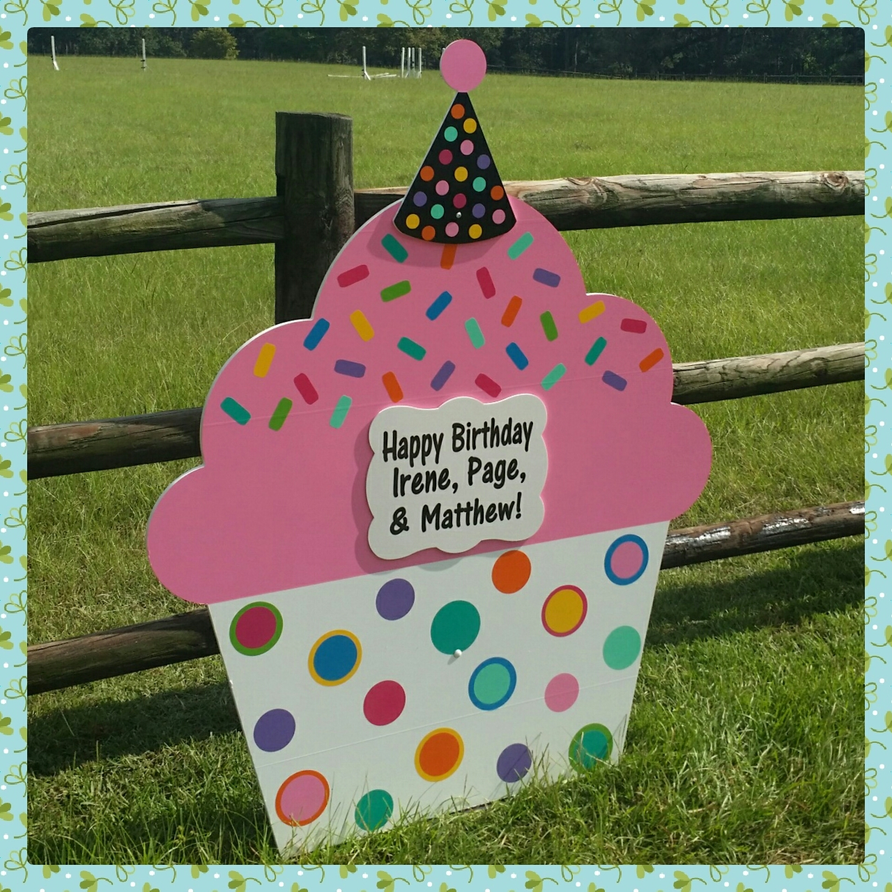 Yard Signs For Birthdays ~ Southern Pines NC