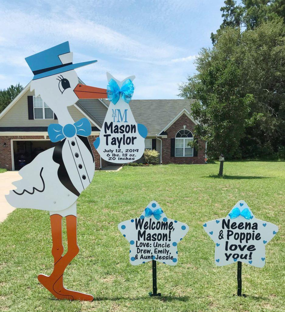 Stork Photo Fayetteville, NC